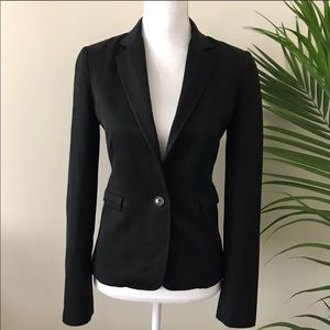 Alessandro dell'acqua black formal career blazer